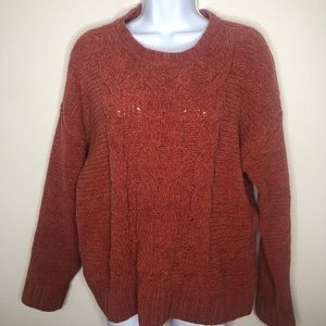 AEO Soft Cable Knit Sweater Size L
